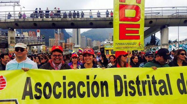 Paro de maestros este viernes en Bogotá