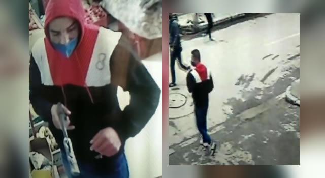 [VIDEO] Así fue que presunto ladrón robó en supermercado de Soacha