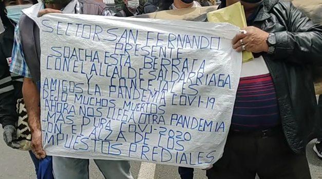 'Soacha está berraca' refuta afirmaciones del alcalde Saldarriaga