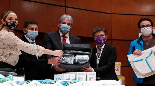 Bogotá recibe donación de Emiratos Árabes Unidos y Moncada Holding
