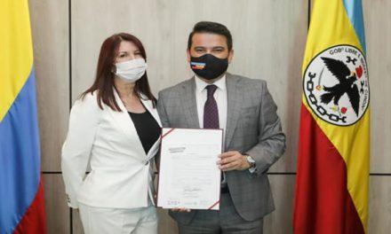 La soachuna Nora Evelia Escobar es la nueva Secretaria General de Cundinamarca