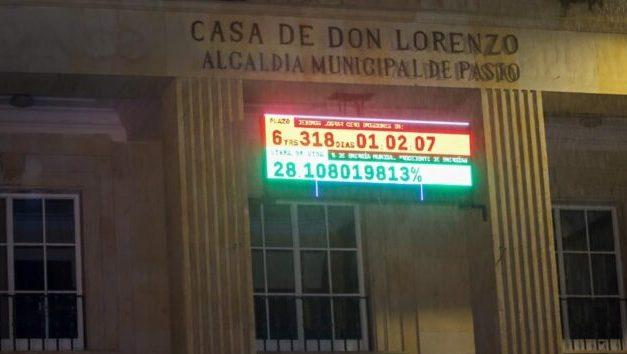Pasto, la primera ciudad  latinoamericana en tener reloj climático