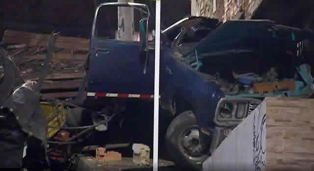 Una persona muerta después de aparatoso accidente en Bogotá