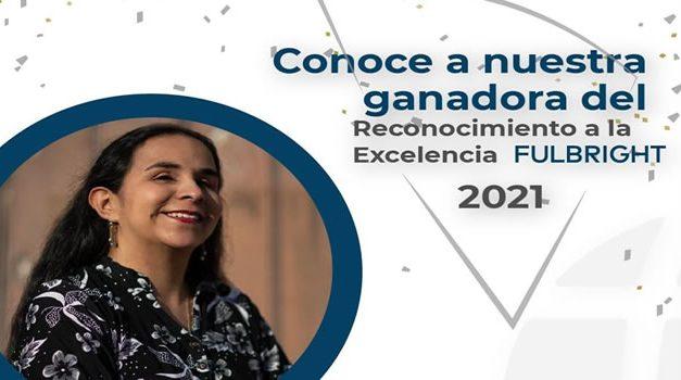 Adriana María Pulido Camargo fue  reconocida con el premio a la excelencia Fulbright 2021