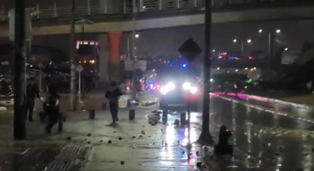 Segunda noche de disturbios en Soacha
