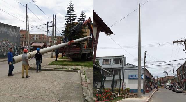 Dos miradas a las cámaras de seguridad que se instalan en Soacha