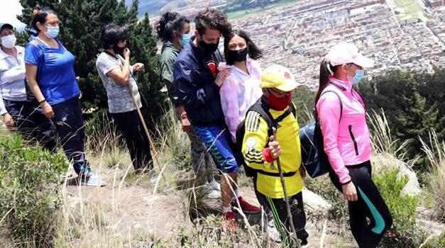 Les contamos cómo participar en las caminatas ecológicas de Soacha