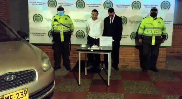 Delincuentes que amarraron a un conductor fueron capturados en Bogotá