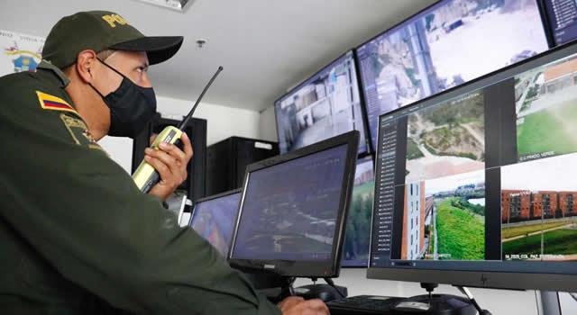 En Soacha se activan 50 nuevas cámaras de seguridad