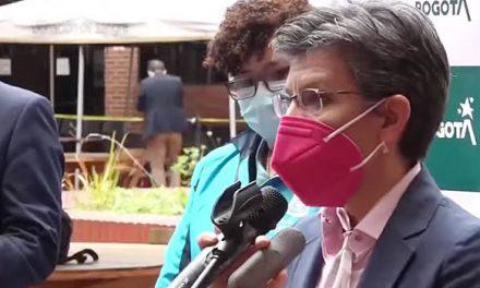 Claudia López calificó de irresponsable la toma a Bogotá