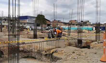 Así avanza la construcción de la Institución Educativa León XIII de Soacha