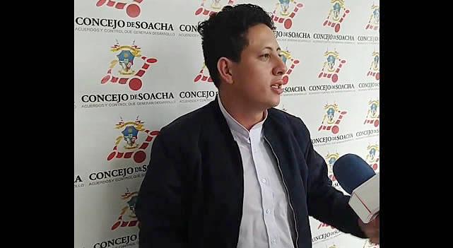 Amenazas de muerte al concejal Heiner Gaitán y otros líderes de Soacha