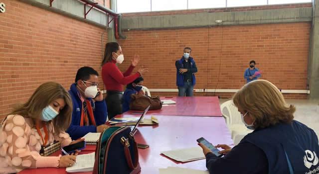 EPS convida sale en defensa de sus usuarios en Zipaquirá, Cundinamarca