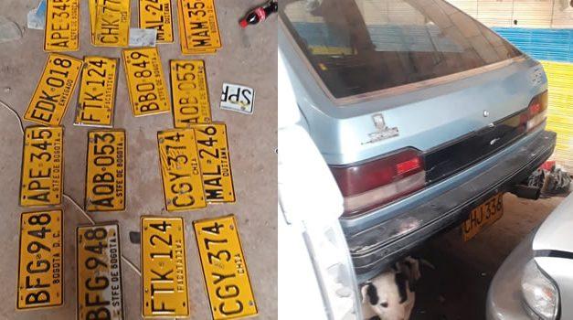 En 'desguazadero' de Soacha encuentran vehículos robados en Bogotá y Zipaquirá