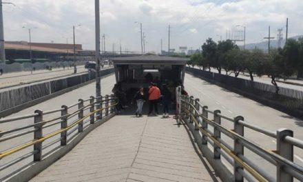 Cancelan servicio de Transmilenio a Soacha