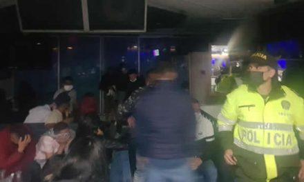 De no creer, el fin de semana se intervinieron 133 fiestas en Bogotá
