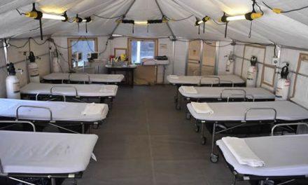 Con hospitales de campaña se amplía capacidad de atención en Bogotá