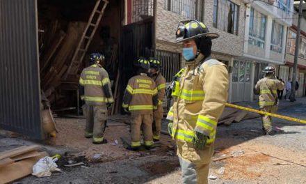 Una persona muerta y 10 viviendas afectadas deja explosión en Bogotá