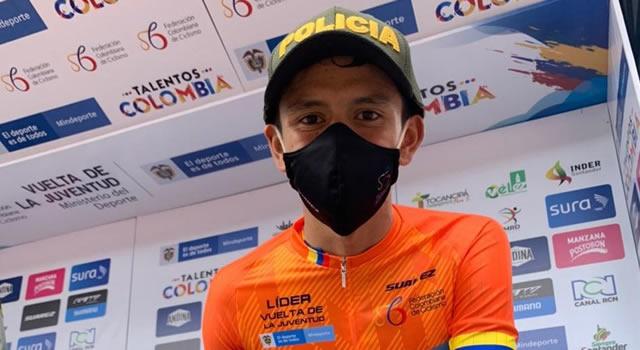 Jesús David Peña ganó primeras dos etapas de la Vuelta a la Juventud