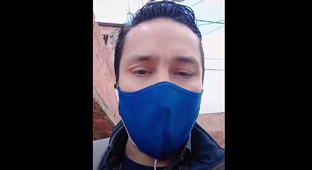 [VIDEO]  Lo robaron dos veces en menos de un mes en el mismo barrio de Soacha donde reside