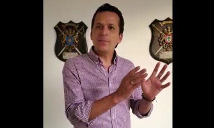 [VIDEO] La 'pataleta' del alcalde de Soacha por el control de la autopista Sur