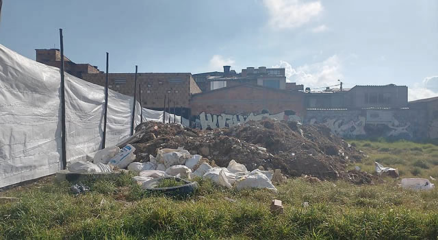 Lote vacío, foco de múltiples problemas en Nuevo Portalegre, Soacha
