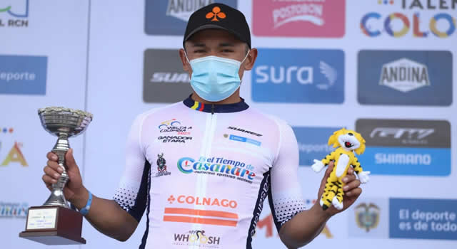 Soachuno Luis Carlos Chía ganó segunda etapa de la Vuelta a Colombia