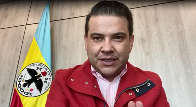 Video del gobernador de Cundinamarca donde anuncia Toque de Queda es de comienzo de año