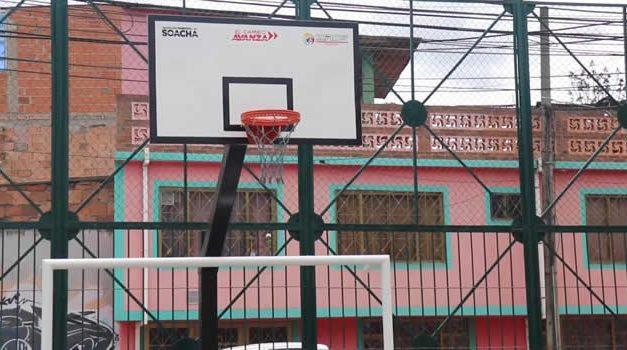 'Como nuevo', así quedó el parque del barrio 12 de Marzo en Soacha