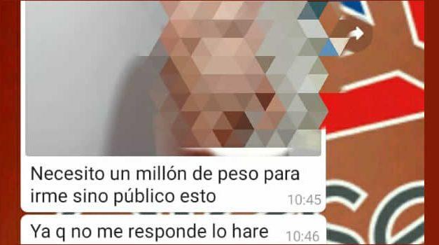 En Cundinamarca capturan hombre cuando recibía $1 millón por 'sextorsión'