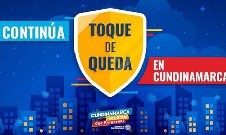 Toque de Queda en Cundinamarca cambia de horario