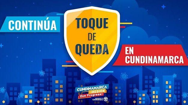 Nueva jornada de toque de queda nocturno en Cundinamarca