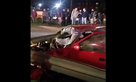 [VIDEO] Muere persona en accidente de tránsito cerca del Aeropuerto El Dorado de Bogotá
