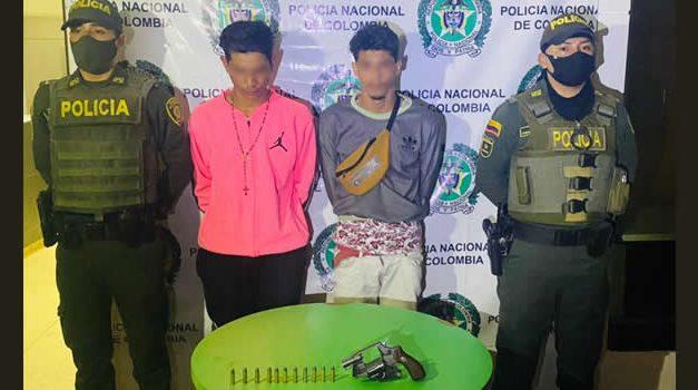Capturan dos venezolanos con armas de fuego en Soacha