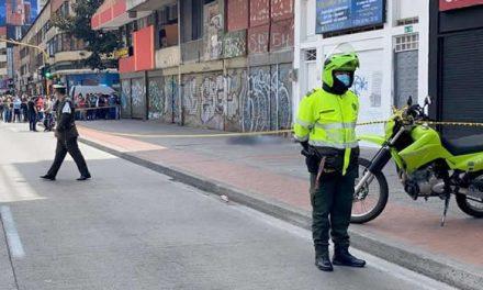 Balacera en Bogotá deja un muerto y tres heridos