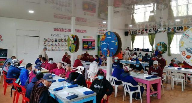 Centro masculino especial La Colonia de Sibaté, participa en Fides virtual