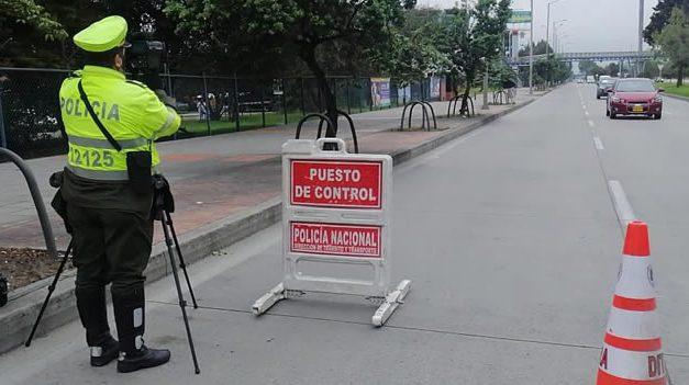 La gente no aprende, 583 comparendos se impusieron en Bogotá en primer día de cuarentena