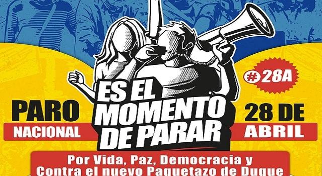 Procuraduría recomienda considerar la posibilidad de aplazar marchas de paro nacional