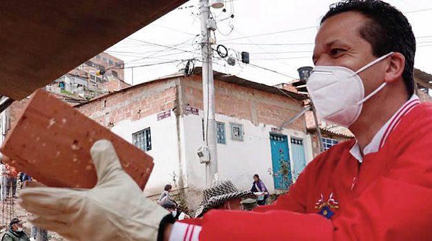 Más de 18 mil adoquines entregados a la comuna cuatro de Soacha