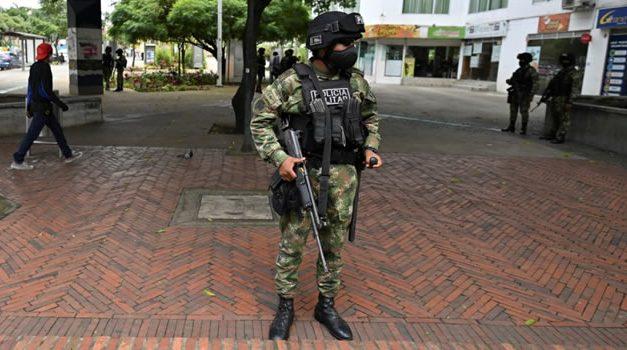Asistencia militar ordenada por Duque también llegó a Facatativá y Madrid, Cundinamarca