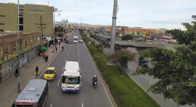 Autopista Sur en Soacha amanece con algunos traumatismos en movilidad
