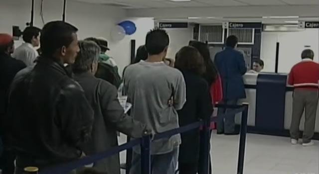 ¡De no creer! Roban siete bancos en Bogotá y les dan casa por cárcel
