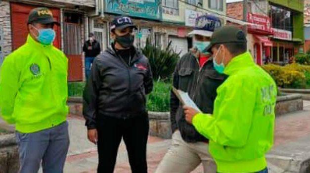 Capturan presuntos responsables de incendiar peaje de San Miguel en Sibaté, Cundinamarca