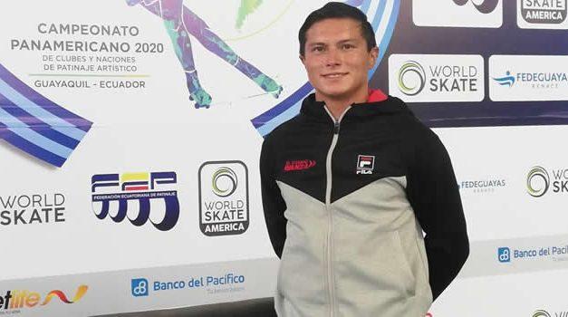 David Jiménez, el soachuno que hace parte de la Selección Colombia de Patinaje Artístico