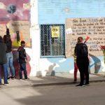 Ejemplo de protesta en colegio Ciudad Latina de Soacha