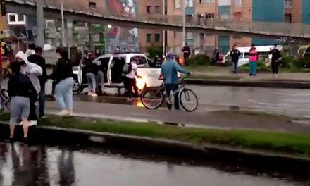 [VIDEO] Revelan video que permitió judicializar capturados por incendio de patrulla de la Policía en Soacha