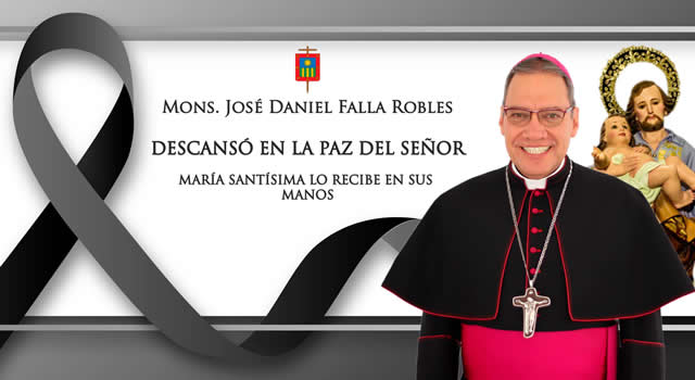 Fallece monseñor José Daniel Falla Robles, obispo de Soacha