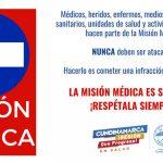 Cundinamarca rechaza  ataques sistemáticos a la Misión Médica durante protestas en el departamento