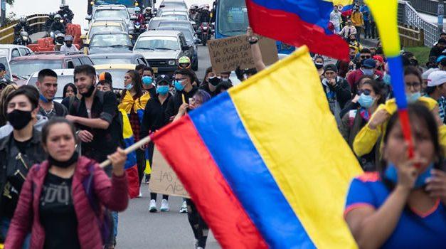 Balance de protestas en Bogotá. Se reportaron heridos