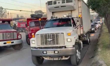 [VIDEO] Se levanta bloqueo de volquetas en la región Bogotá-Cundinamarca